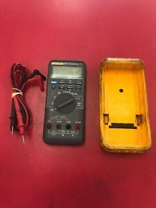 Fluke 787 Processmeter Multimeter With Leads Priority Shipping