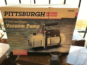 Pittsburgh 3 Cfm Two Stage Vacuum Pump