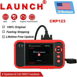 Obd2 Engine Transmission Abs Srs Diagnostic Tool Auto Scanner Crp123 As Fx2000