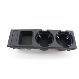 Black For Bmw E46 Front Center Console Drink Cup Holder 51168217953 957 Us Ship