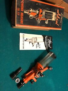 Lyman Ideal 55 Powder Measure wbox & Manual. No. 55 Vintage Reloading