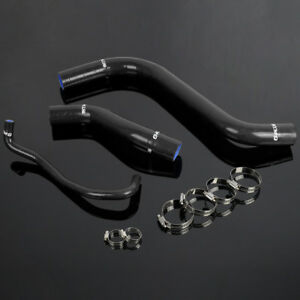 Universal Silicone Coolant Radiator Hose Clamps Kit For Lifan 620 Solano Black
