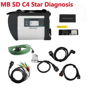 Mb Sd C4 Connect Compact 4 Star Diagnostic Tool With Wifi Multi langauge