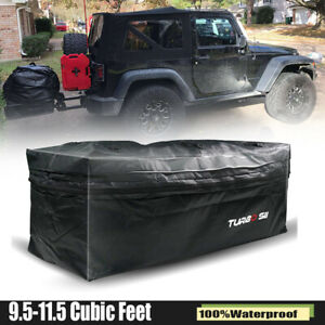 For Car Cargo Luggage Carrier Bag Storage Hitch Mount Waterproof Travel 20 Cu Ft