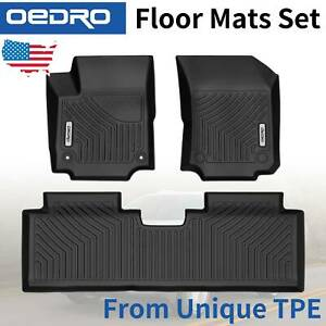 All Weather Floor Mats Liners Fit For 2018 2020 Chevrolet Equinox Unique Tpe
