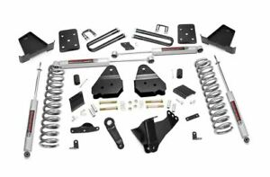 Rough Country 4 5in Lift Kit 2015 2016 Ford F 250 4wd Diesel No Overload Spring