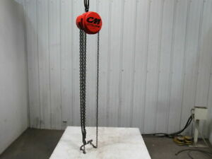 Cm Model S 1 4 Ton Manual Chain Fall Hoist 13 Lift W load Limiter Tested