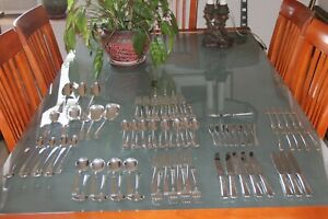 Towle Craftsman Sterling Silver Flatware Service 90 Pieces
