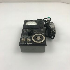 Vinatge Weston Electric 2j Repeater Test Set J94002j Meter 301 4 b3