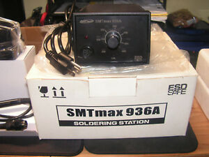 Smtmax 936a Esd Soldering Station Used And Well Cared For