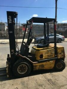 Yale Forklift Diesel Low Hours