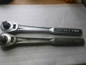 Two Vintage Craftsman V 44975 1 2 Drive Ratchets
