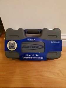 Blue point 25 Pc 1 2 Dr General Service Set Blpgssm1225 As Sold By Snap On