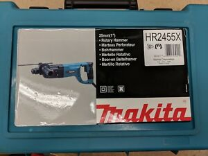 Makita 1 inch D handle Rotary Hammer Drill Hr2455x