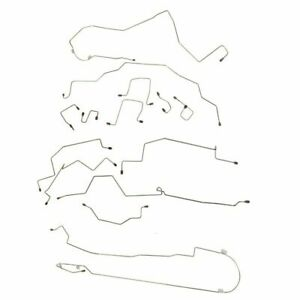Fits 1998 01 Dodge Ram 1500 4wd Ext Long Complete Brake Line Kit Abs Stainless