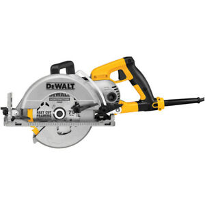 Dewalt Dws535t Circular Saw 7 1 4 Worm Drive With Male Twist Lock Plug