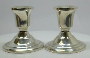 Duchin Creations Sterling Silver Candlesticks 96500 17d