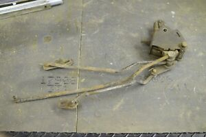 Hurst Competition Plus 3917960 4 Speed Shifter W Linkage Vintage Used Part