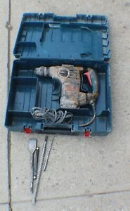 Bosch Rh328vc Corded Electric Rotary Hammer Drill In Case With Bits
