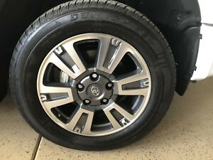 Wheels And Tires 20 Toyota Tundra Platinum Factory Oem Pick Up Only