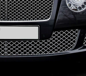 Chrome Bumper Mesh Grille Left For Bentley Continental Gt Gtc 12 18