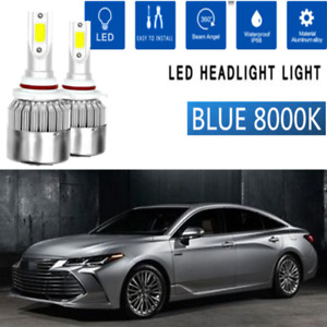 2x Led Headlight Kit Bulbs Low Light For Honda Civic Coupe 2004 2013 8k Ice Blue
