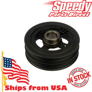 Crankshaft Pulley Harmonic Balancer For Toyota Corolla 85 91 Oem 13470 16030