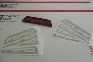 Coupe Eg Brake Light Decal Sticker Jdm Sir Civic Coupe Eg6 Ej1 92 95 Honda