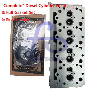 complete Diesel Cylinder Head Full Gasket For Kubota V2003 Direct Injection