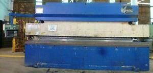 150 Ton Atlantic Hydraulic Press Brake No Hde150 14 16 O a 12 29939