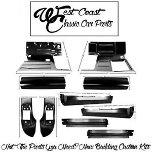 1947 1955 Chevy Truck 1st Edition Cab Floor Kit