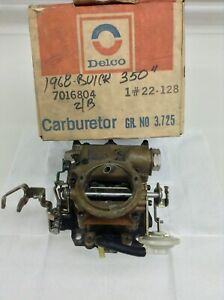 Nos Rochester 2gv Carburetor 7028140 1968 1969 Buick 350 Engines