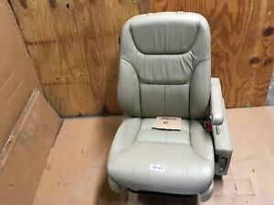 2005 Honda Odyssey Front Right Passenger Side Power Seat Armrest Leather Tan Oem