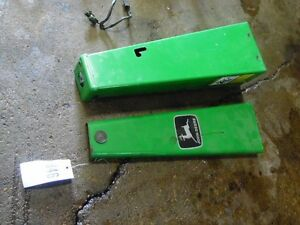 John Deere F935 Diesel 3 Cylinder Mower Front Steering Tower Shield Tag 846