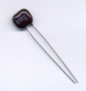 220 Pf 500 Volts 5 Dipped Silver Mica With Radial Leads American Parts 3 Pcs