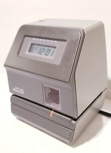 Acroprint Att310 Time Clock unit Only Need Key Cards And Ink 6 Ibs Free Ship