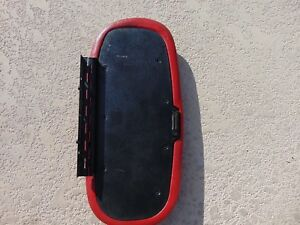 94 98 Ford Mustang Center Console Armrest Cover Red W Magnet