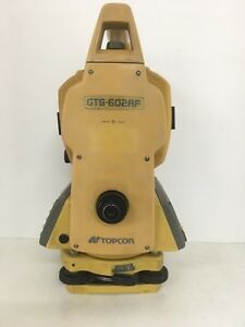 Topcon Gts 602af Total Station With Case