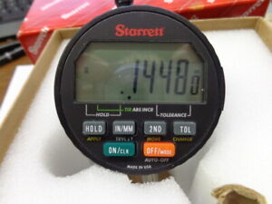 Starrett Digital Electronic Indicator Cat 2720 0m 0 16mm