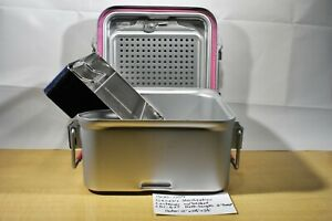 Genesis Sterilization Container Half length Cd1 6st With Basket 1500 004