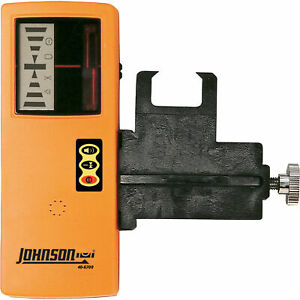 Johnson Level Tool Laser Detector W clamp 40 6700