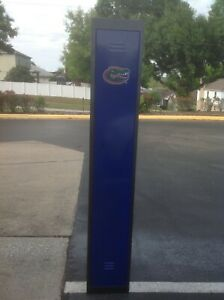 Florida Gator Metal Storage Gym Locker Go Gators brand New 72 x18 x12