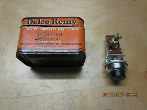 1949 53 Marmon Herrington Delco Remy Push Type Switch Nos