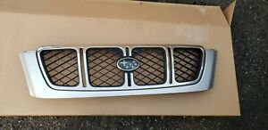 2001 2002 Subaru Forester Grill Grille With Emblem Factory Oem