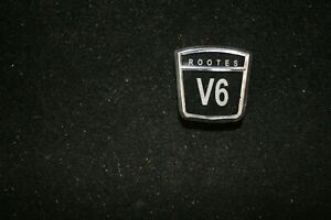 Sunbeam Alpine Rootes V6 v Beside The 6 Badges Set Of 3 New Reproduction
