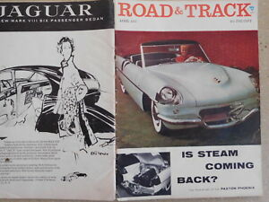 Vintage Volvo Pv 444 Road Test In A April 1957 Road And Track Magazine