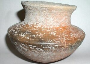 Chupicuaro Culture Pre Columbian Unusual Round Bottom Pot C 300 Bc 100 Ad