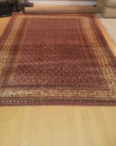 Turkmenistan Authentic Rug Hand Made 100 Years Old 5 10x9