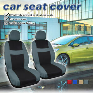Car Interior Accessories Seat Covers With Headrest Full Set For Auto Truck Suv