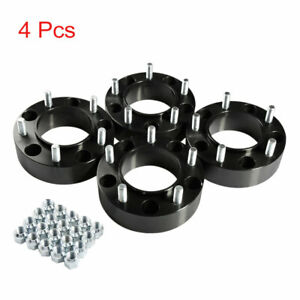 On Sales 4pcs 2 Wheel Spacers Adapters For Toyota Land Cruiser 1998 2016